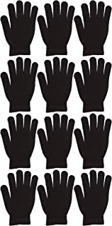 Yacht & Smith Wholesale Men's and Women's Warm Stretchy Winter Magic Gloves, One Size