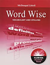 McDougal Littell Literature: Word Wise: Vocabulary and Spelling Workbook Grade 07