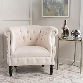 Christopher Knight Home Akira-Ch. Arm Chair, Beige