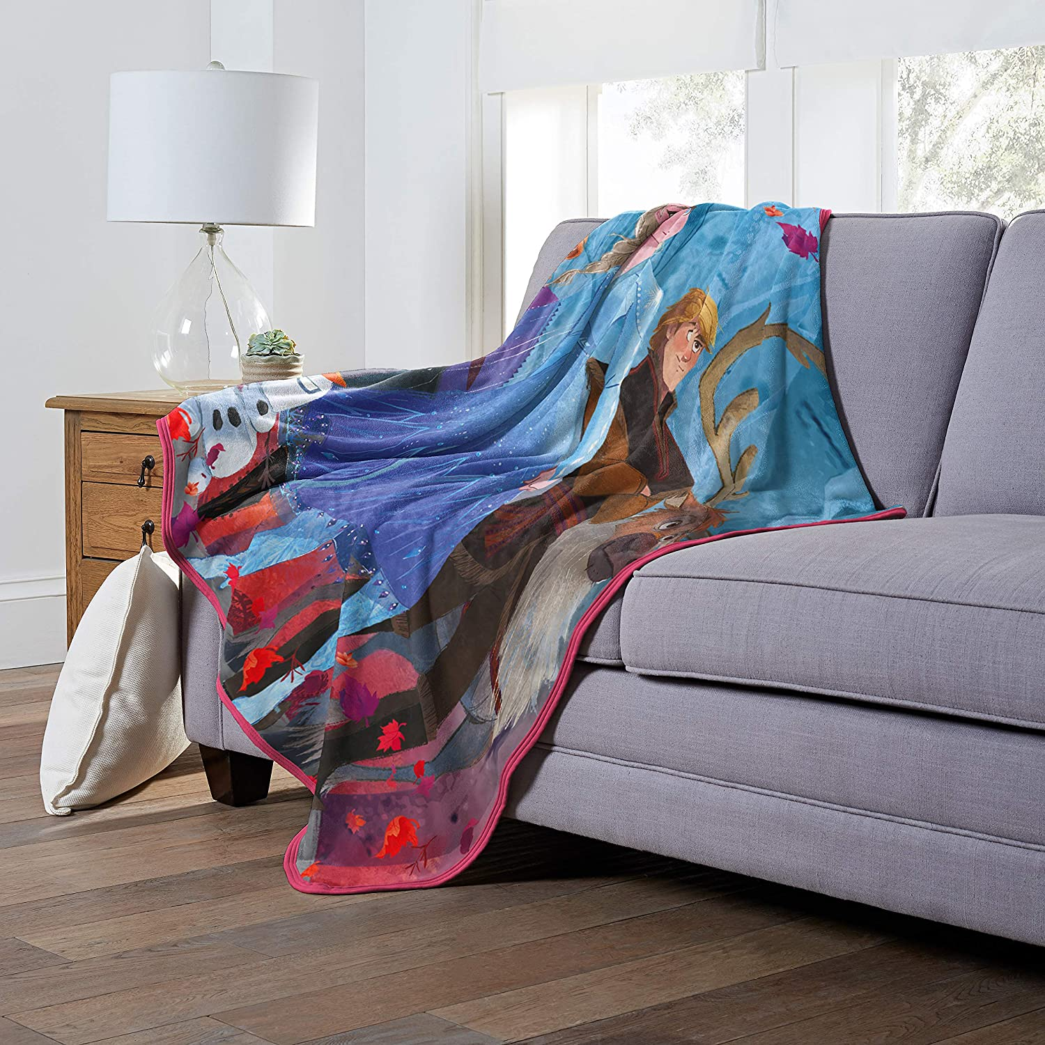 Disney 'Colorful Journey' Oversized Silk Touch Throw Blanket, 60