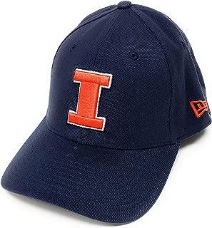 New Era Illinois Fighting Illini Hat - Foundation Cap - Medium - Large