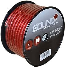 Best 4 gauge red wire Reviews