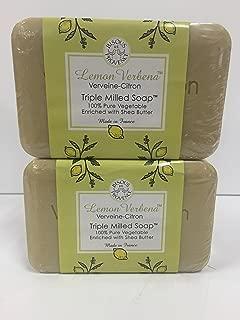 Lemon Verbena Verveine-citron Triple Milled Soap (2 Bars)