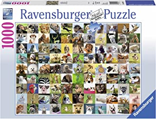 Ravensburger 99 Funny Animals Puzzle 1000pc,Adult Puzzles