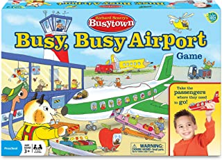 Wonder Forge Richard Scarry Airport Game for Boys & Girls Age 3 & Up - It's a Busy Day at The Airport, and You're The Pilot!