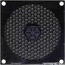 SilverStone SST-FF81 - Rejilla para ventilador de 80mm y filtro de polvo, negro