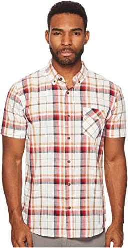 Levi's® - Bexar Short Sleeve Plaid Shirt