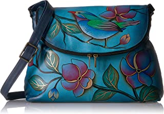 ANNA by Anuschka Hand Painted Large Flap bag