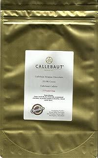 CALLEBAUT Milk Chocolate Callets, 2 Pound