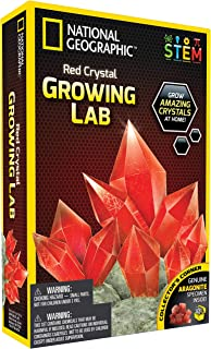 National Geographic NGRCRYSTAL Crystal Growing Lab, Red