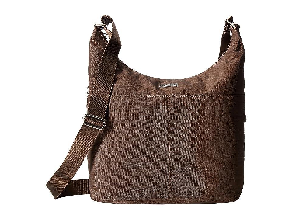 Baggallini Hobo Crossbody with RFID Wristlet (Portobello) Cross Body Handbags