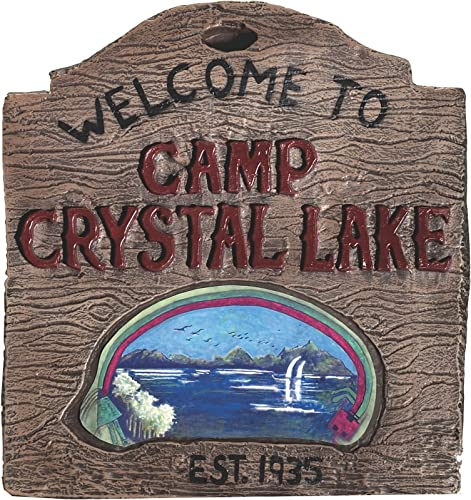 solo cómpralo Friday Friday Friday the 13th Camp Crystal Lake Film de panneau  el mejor servicio post-venta