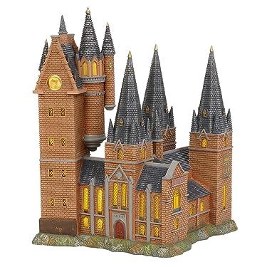 Department 56 6003327 Harry Potter Village Hogwarts Astronomy Tower Lit Building, 12.2 Inch, Multicolor
