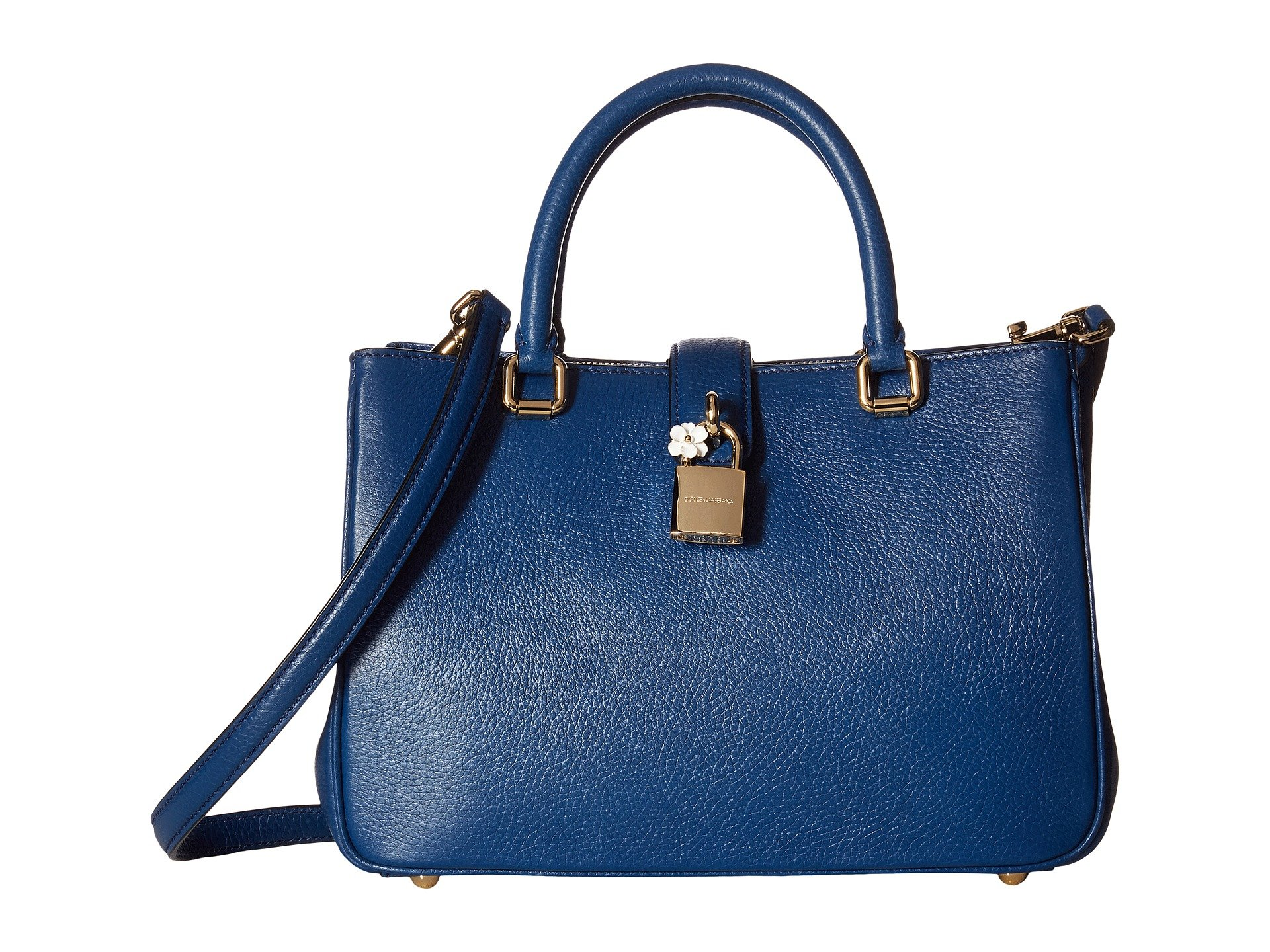 Bolso tipo Satchel para Mujer Dolce and Gabbana Small Leather Dolce Shopper  + Dolce & Gabbana en VeoyCompro.net