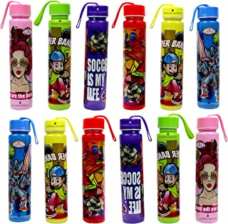 Perpetual Bliss Cartoon Character Water Bottle for Boys Girls Kids Birthday Party Return Gift {Pack of 12}