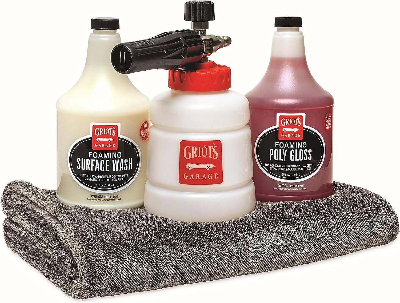 Griot's Garage B4001 Fresno Mall BOSS Starter Foaming System Free Shipping New Kit