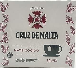 cruz de malta tea bags
