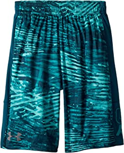 Under Armour Kids Instinct Printed Shorts (Big Kids)
