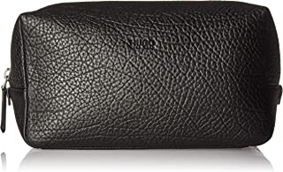 Hugo Boss Men's Victorian_Washbag 100% Cow skin Travel Wash Bag Bags