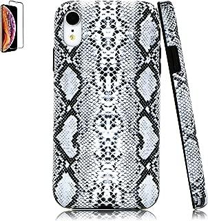 Lartin Cool Snakeskin Soft Flexible Jellybean Gel TPU Case for iPhone XR