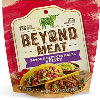 Beyond Meat, Feisty Beef-Free Crumbles, 11 oz (Frozen)