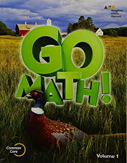 Go Math!: Student Edition Volume 1 Grade 5 2015
