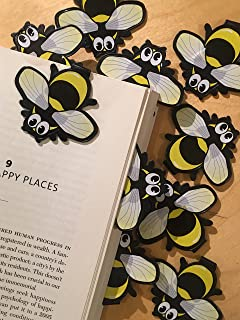 Bee Bulk Bookmarks for Kids Girls Boys - Set of 10 - Animal Bookmarks Perfect for School Student Incentives Birthday Party...