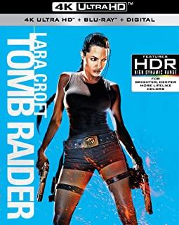 Lara Croft: Tomb Raider (4K UHD + Blu-ray + Digital)