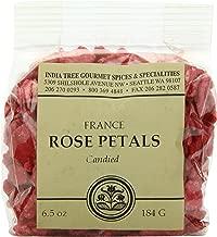 India Tree Candied Rose Petals, 6.5 oz