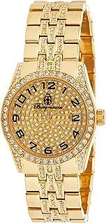 Burgmeister 男式 BM119-299 钻石星星模拟手表