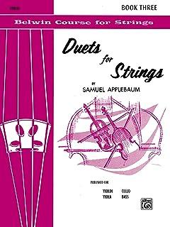 Duets for Strings, Bk 3: Violin