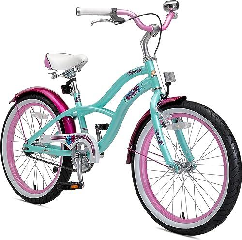 compras de moda online BIKESTAR Bicicleta Infantil para Niños y niñas a Partir Partir Partir de 6 años   Bici 20 Pulgadas con Frenos   20  Edición Cruiser  mejor reputación