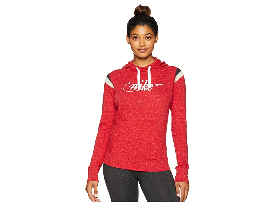 Nike Gym Vintage Hoodie Pullover HBR (Gym Red/Sail) Women