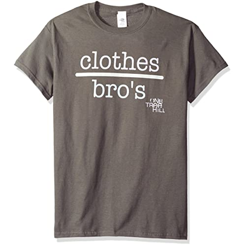 ac41fae33be5 Trevco Men s One Tree Hill Tv Show Clothes Over Bros 2 T-Shirt