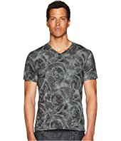 Etro - Printed V-Neck T-Shirt