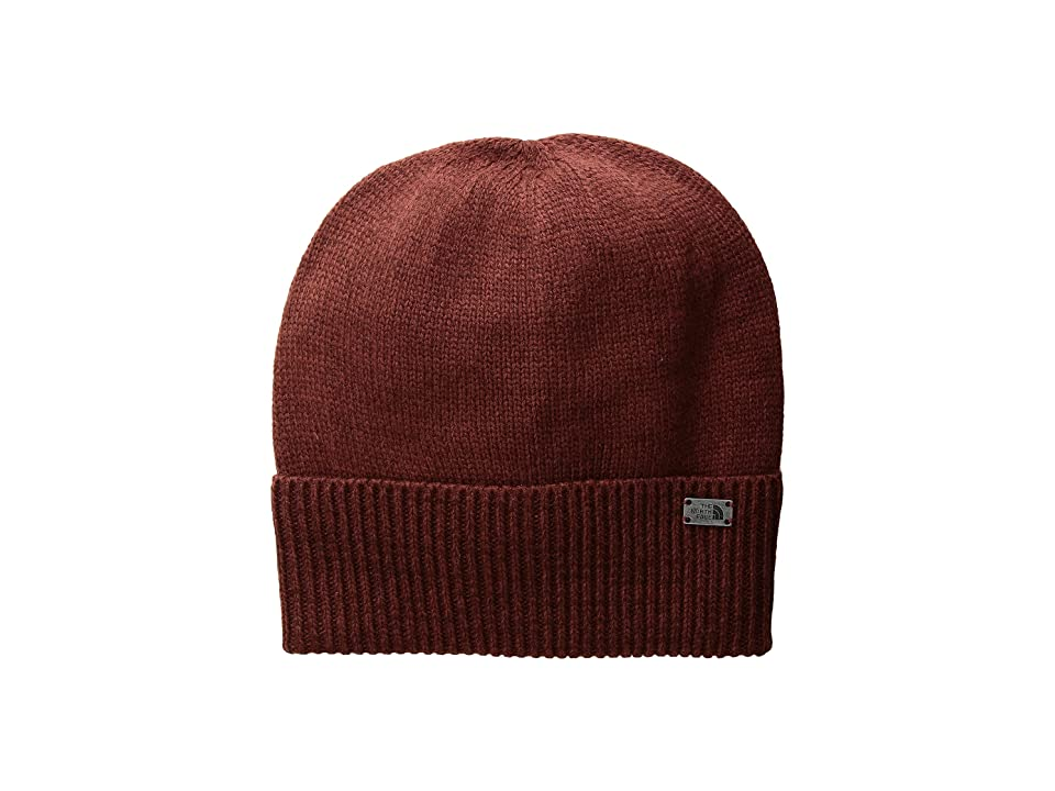 The North Face TNF Cuffed Beanie (Barolo Red/Sequoia Red (Prior Season)) Beanies