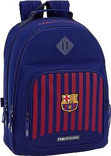 FC Barcelona ST611829560 Equipaje para niños, Azul, 42 cm