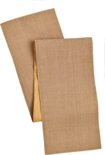 Cotton Craft - Solid Color Jute Table Runner 13x72 - Natural- Perfect Accessory to Dress Up Your Dinner Table - Made from 100% Jute - Spot Clean Only