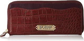Isle Locada By Hidesign Women's Wallet (Marsala/Aug)