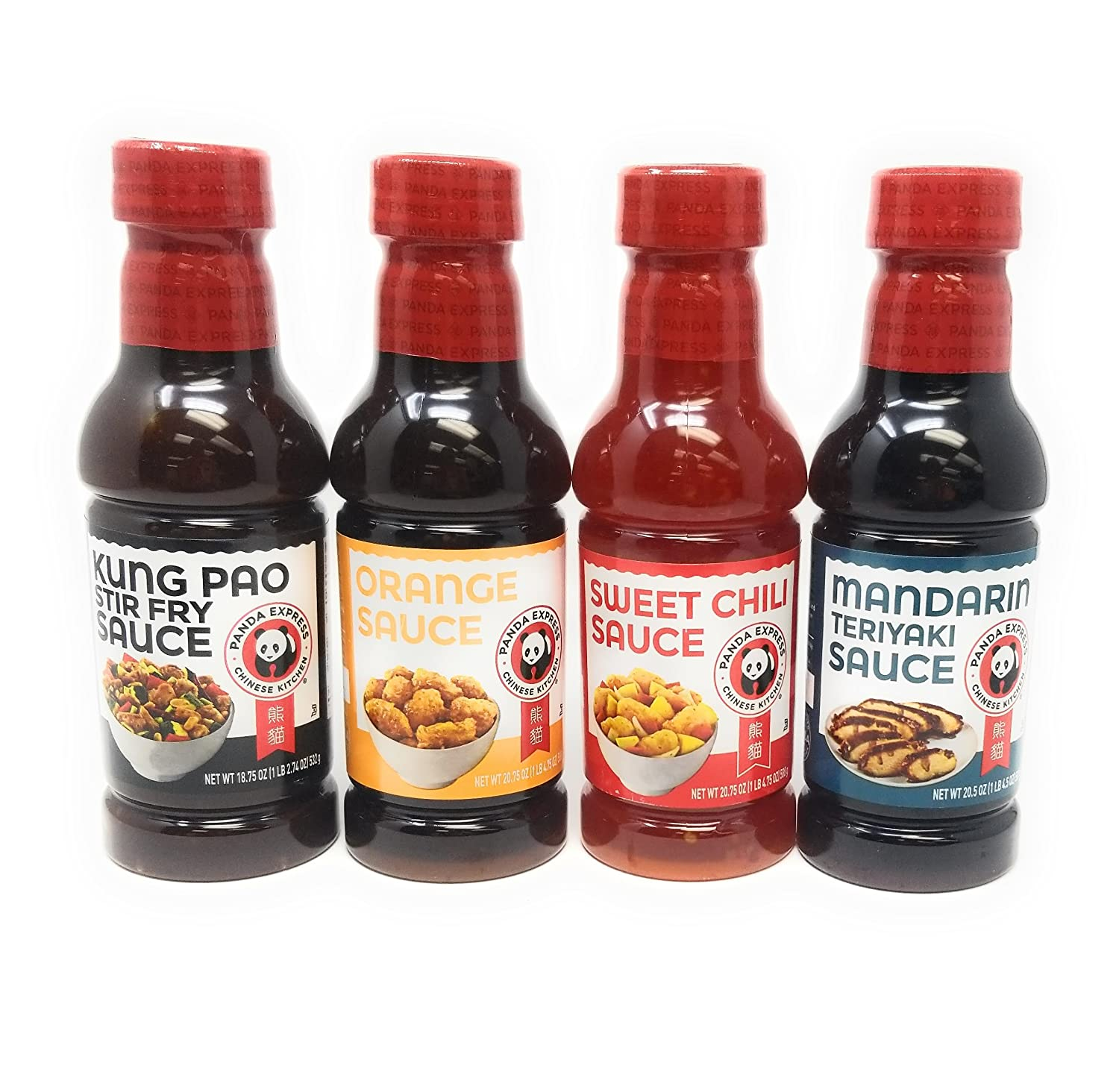 Amazon Com Panda Express Sauce Variety Bundle 18 75 Oz 20 75 Oz Pack Of 4 Includes 1 Bottle Sweet Chile Sauce Mandarin Teriyaki Sauce Orange Sauce Kung Pao Sauce Grocery Gourmet Food