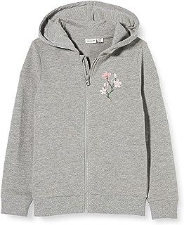 NAME IT meisjes sweater NKFBEATE SWE CARD WH UNB CAMP