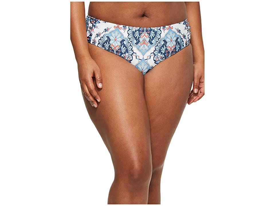 BECCA by Rebecca Virtue Plus Size Naples Hipster Bottoms (Multi) Women