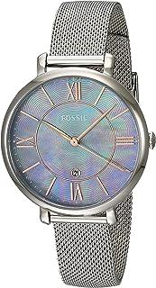 Fossil Women's ES4322 Jacqueline Analog Quartz Silver-Tone Watch