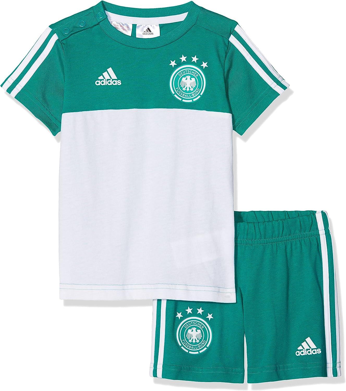 Adidas Unisex Baby DFB 3 Stripes Summerset Trikot & Short Short Short B0779BWL6S  ein guter Ruf in der Welt da82c5
