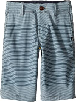 Gaviota Stripe Hybrid Shorts (Little Kids/Big Kids)