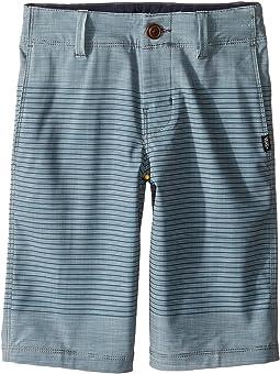 Gaviota Stripe Hybrid Shorts (Little Kids/Big Kids)
