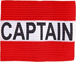 Crown Sporting Goods Captain Armband   Youth Team Sports Athletic Accessory   One-Size Elastic Player Band for School, Pla...