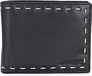 Camelio Black Men's Wallet (CAM-BL-047)