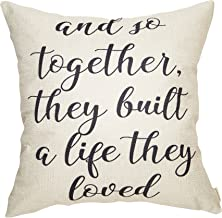 Fahrendom and So Together They Built a Life They Loved Farmhouse Décor Family Decoration..
