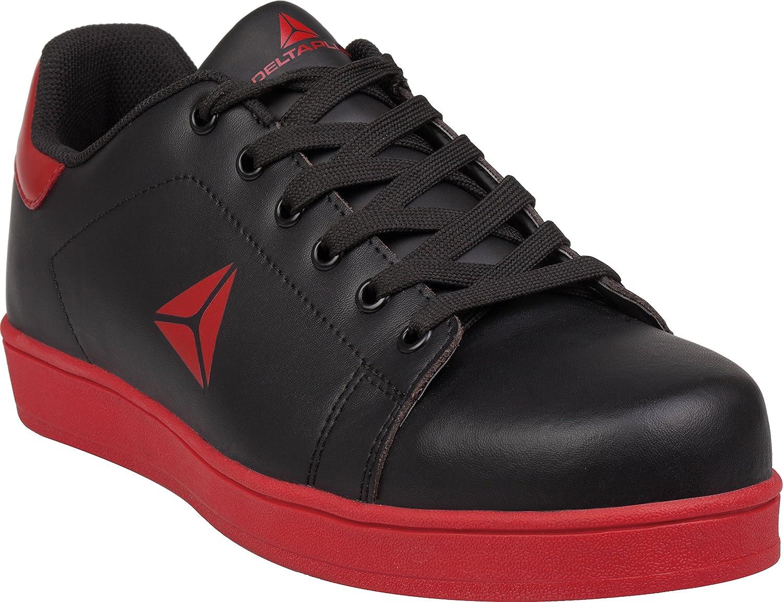 Delta-Plus Smash Black S1P 100% Metal Free Composite Toe Cap Safety Sports shoes Sneakers